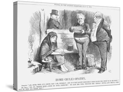 Home-(Rul)-Opathy, 1874-Joseph Swain-Stretched Canvas Print