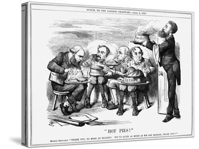 Hot Pies!, 1879-Joseph Swain-Stretched Canvas Print
