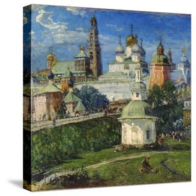 The Trinity Lavra of St Sergius in Sergiyev Posad, 1910S-Michail Boskin-Stretched Canvas Print