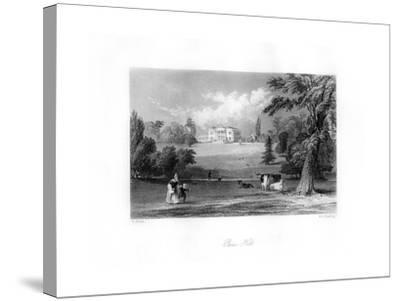 Pains Hill, Surrey, 19th Century-MJ Starling-Stretched Canvas Print