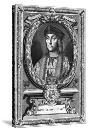 Henry VII of England, (17th Centur)-P Vanderbanck-Stretched Canvas Print