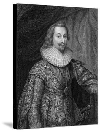 George Villiers, 1st Duke of Buckingham (1592-162), 1824-S Freeman-Stretched Canvas Print