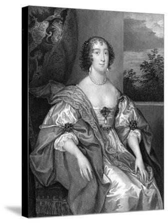 Dorothy Sidney (Nee Perc), Countess of Leicester (C1598-165), 1824-TA Dean-Stretched Canvas Print