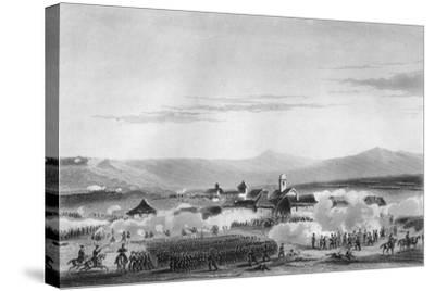 The Battle of Citate, During the Crimean War, 1854-W Hulland-Stretched Canvas Print