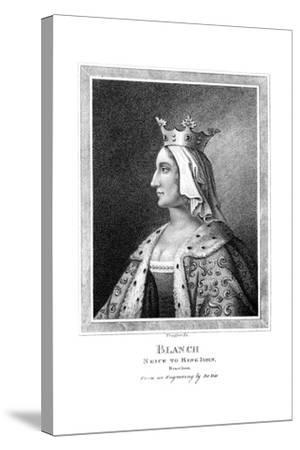 Blanche of Castile (1188-125), Niece to King John-Thomas Trotter-Stretched Canvas Print