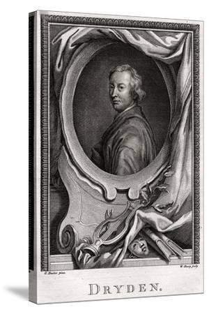 Dryden, 1775-W Sharp-Stretched Canvas Print