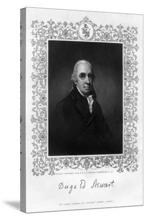 Dugald Stewart, 19th Century-William Home Lizars-Stretched Canvas Print