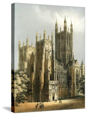 Canterbury Cathedral, Kent, C1870-WL Walton-Stretched Canvas Print