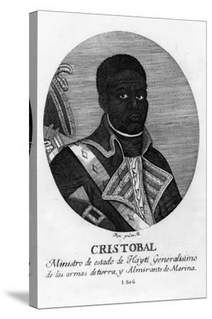 Henri Christophe, King of Haiti, 1806-Rea-Stretched Canvas Print