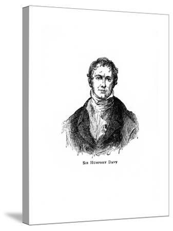 Sir Humphry Davy, Cornish Chemist and Physicist--Stretched Canvas Print