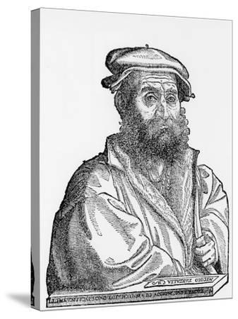 Niccolo Tartaglia, Italian Mathematician and Mechanician, 1550s--Stretched Canvas Print