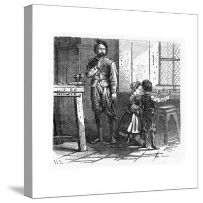 Discovery of the Principle of the Telescope, 17th Century--Stretched Canvas Print