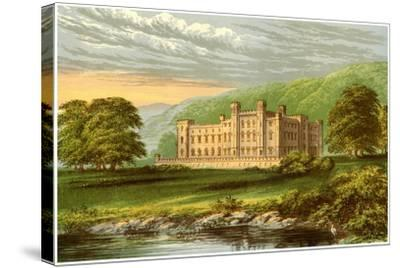 Scone Palace, Perthshire, Scotland, Home of the Earl of Mansfield, C1880-Benjamin Fawcett-Stretched Canvas Print