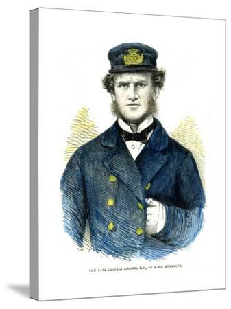 Captain Josling, of HMS 'Euryalus, 1863--Stretched Canvas Print