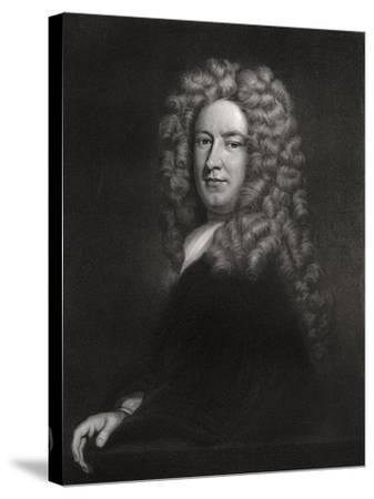 Sir Samuel Garth, English Physician and Poet C1705-1710-Godfrey Kneller-Stretched Canvas Print