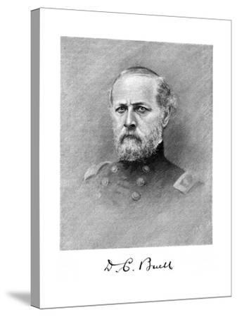 Don Carlos Buell, American Soldier--Stretched Canvas Print