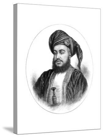 Sayyid Barghash Bin Said, Sultan of Zanzibar, 1875--Stretched Canvas Print