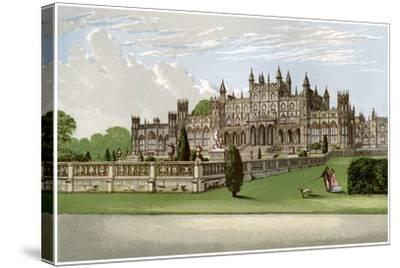 Eaton Hall, Cheshire, Home of the Duke of Westminster, C1880-AF Lydon-Stretched Canvas Print