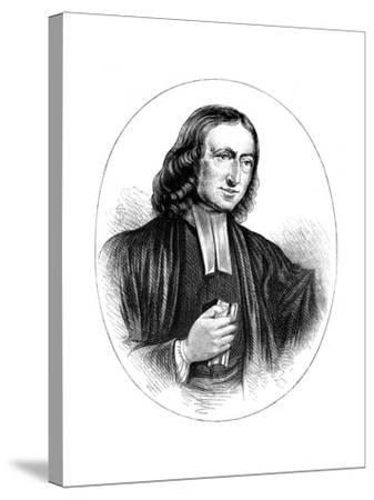 John Wesley, English Non-Conformist Preacher, 18th Century--Stretched Canvas Print