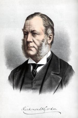 Charles Henry Gordon-Lennox, Duke of Richmond and Gordon, C1890-Petter & Galpin Cassell-Stretched Canvas Print
