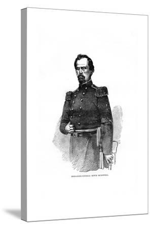 Brigadier-General Irvin Mcdowell, American Military Officer--Stretched Canvas Print