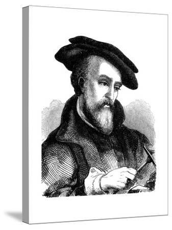 Georgius Agricola (1494-155), German Physician, Mineralogist and Metallurgist, 1881--Stretched Canvas Print