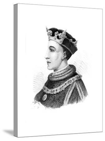 Henry V, King of England--Stretched Canvas Print