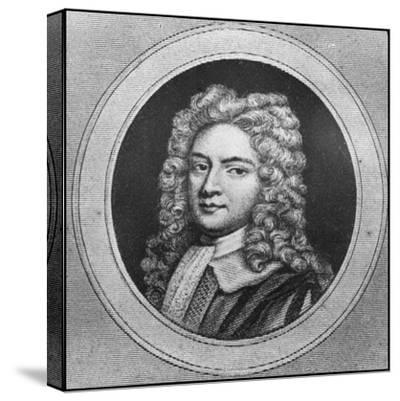 Robert Walpole, 18th Century English Statesman--Stretched Canvas Print