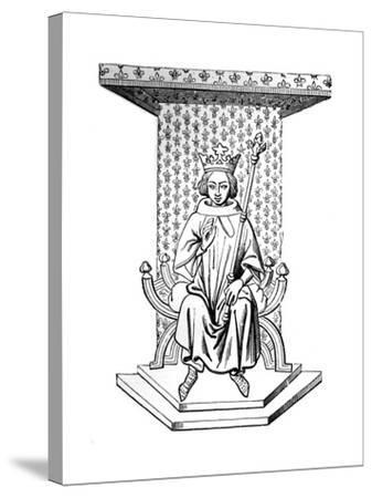 Louis IX, 14th Century--Stretched Canvas Print