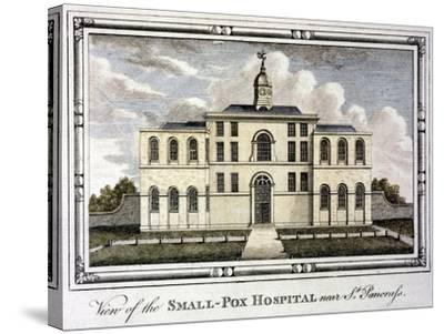Smallpox Hospital, St Pancras, London, C1800--Stretched Canvas Print