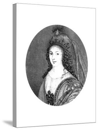 Henrietta, Duchess of Orleans--Stretched Canvas Print