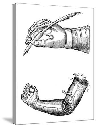 Artificial Limbs, 1510-1590--Stretched Canvas Print