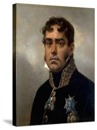 Portrait of General Pablo Morillo Y Morillo, 1820-1822-Horace Vernet-Stretched Canvas Print