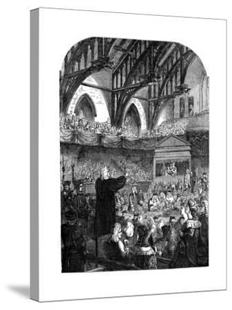 The Trial of Dr Sacheverel, 18th Century--Stretched Canvas Print