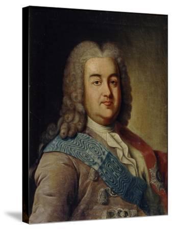 Portrait of Prince Alexey Mikhailovich Cherkassky, 1760S-Ivan Petrovich Argunov-Stretched Canvas Print
