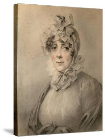 Portrait of Countess Anastasia Nikolaevna Shcherbatova (?-181), Née Dolgorukova-Alexander Molinari-Stretched Canvas Print