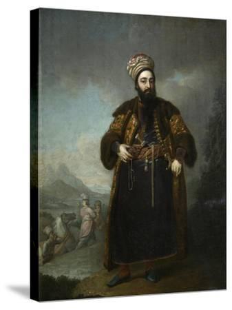 Portrait of Murtaza Kuli Khan, 1796-Vladimir Lukich Borovikovsky-Stretched Canvas Print