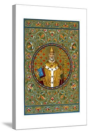 St Leo the Great, 1886--Stretched Canvas Print