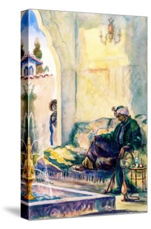Khan Devlet Giray, 1949-Alexander Pavlovich Mogilevsky-Stretched Canvas Print