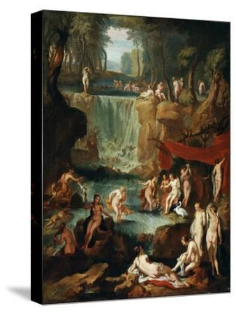 Diana and Actaeon, 1743-Georg Kaspar von Prenner-Stretched Canvas Print