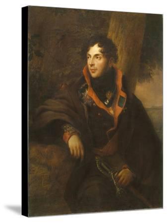Portrait of Count Nikolay Mikhailovich Kamensky (1776-181), 1810-Friedrich Georg Weitsch-Stretched Canvas Print