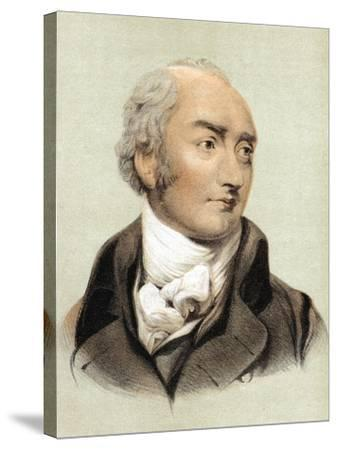 George Canning (1770-182), English Statesman and Primeminister from 1827--Stretched Canvas Print