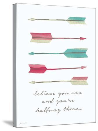 Believe You Can-Jo Moulton-Stretched Canvas Print