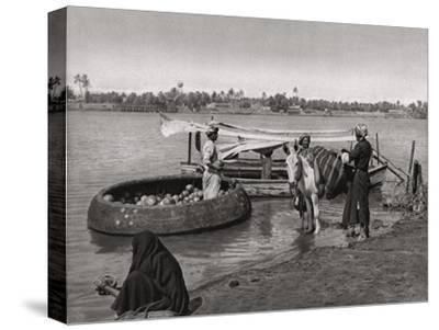 Transport in Iraq, 1925-A Kerim-Stretched Canvas Print