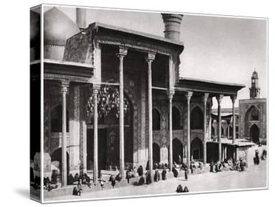 The Entrance Gate of the Kadimain Mosque Leading to the Tomb of the Imam Moosa Al Kadim, 1925-A Kerim-Stretched Canvas Print