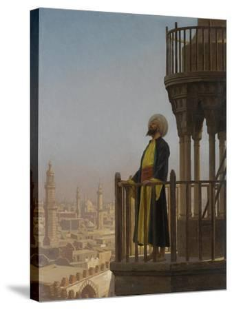 A Muezzin-Jean-L?on Ger?me-Stretched Canvas Print