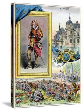 Louis II De Bourbon, Prince De Condé, 1898--Stretched Canvas Print