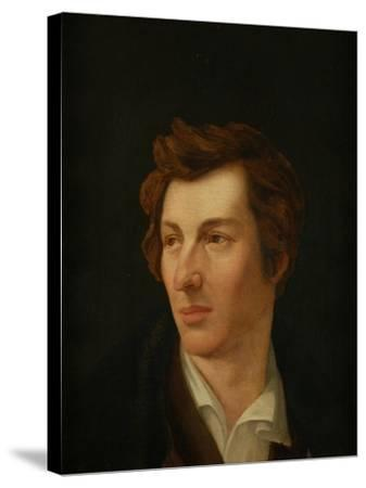Portrait of the Poet Heinrich Heine (1797-185), 1828-Gottlieb Gassen-Stretched Canvas Print