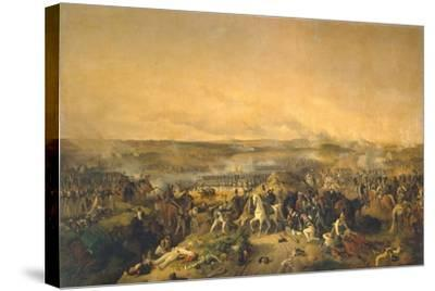 The Battle of Borodino on August 26, 1812, 1843-Peter Von Hess-Stretched Canvas Print