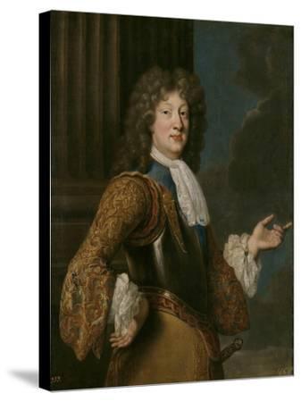 Portrait of Louis, Grand Dauphin of France-François de Troy-Stretched Canvas Print